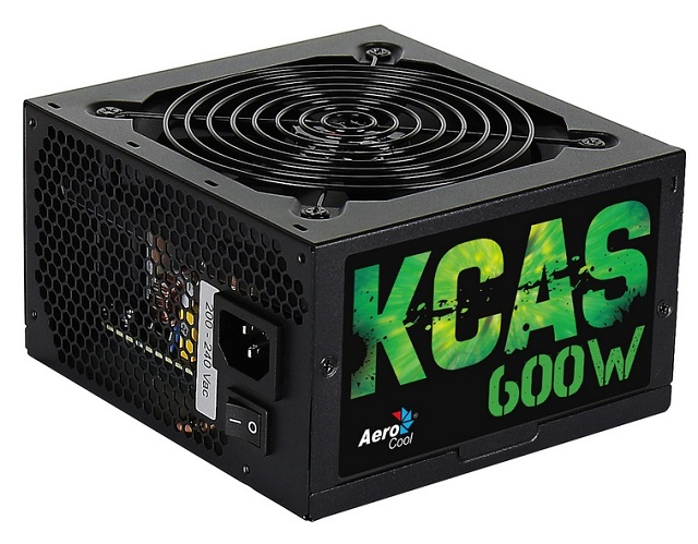 Τροφοδοτικό Aerocool 600W 12cm Fan PFC 80plus+ Bronze