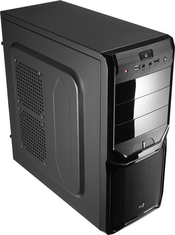 Κουτί Case Aerocool V3X Midi Black Edition No PSU