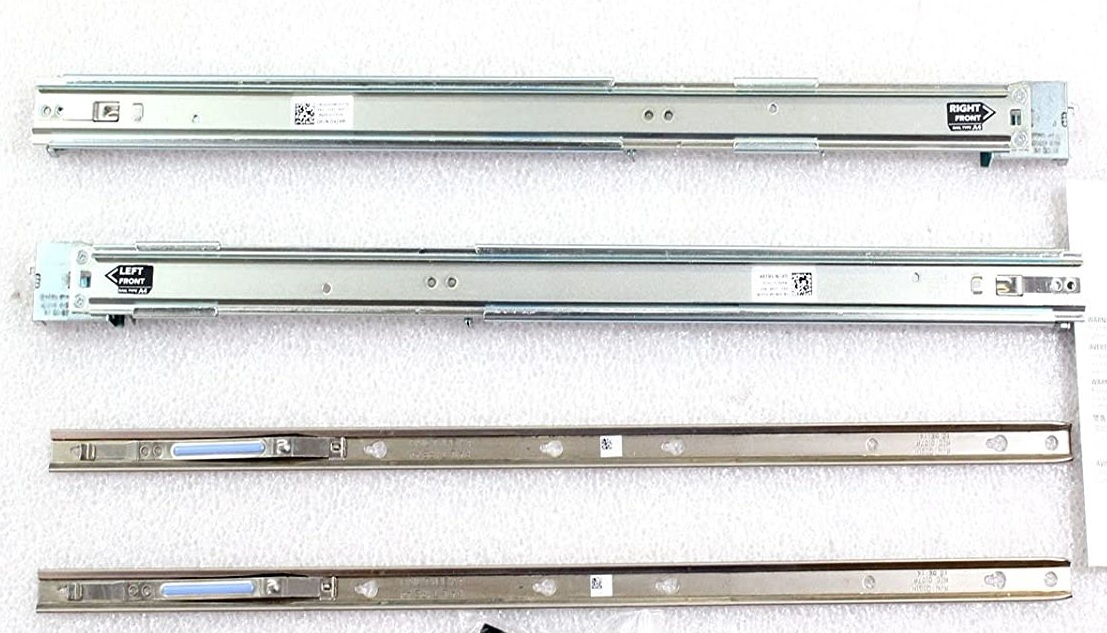 DELL RACK RAILS 0C597M 1U Static RackMount Universal