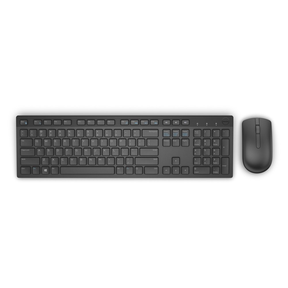 Dell Wireless Keyboard & Mouse Optical KM636 Set GR