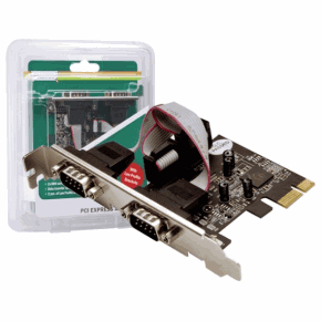 Digitus PCI Express Card Serial 2Port Low Profie DS-30000
