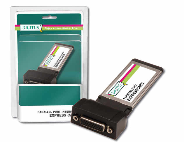 Κάρτα Παράλληλη Digitus ExpressCard 1Port Parallel DS-31206