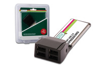 Digitus ExpressCard USB 4port Εξτρα Θύρες USB