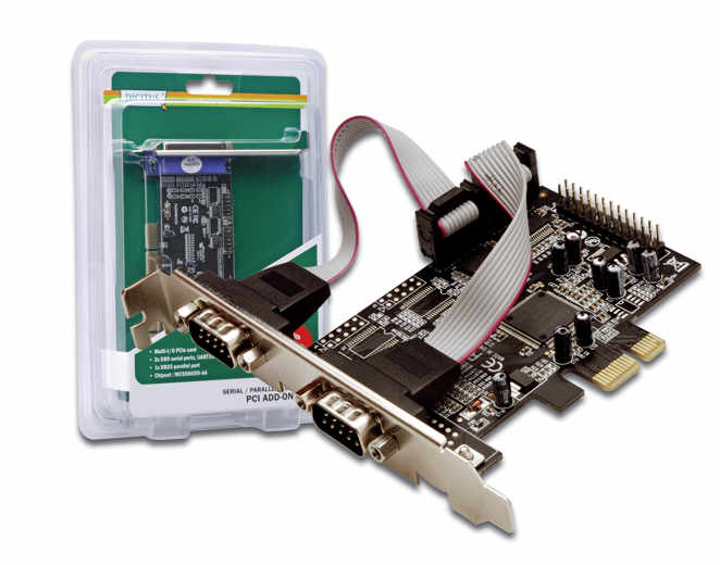 Digitus PCI Express Combo Card Serial 2Port+1P Parallel DS-30040