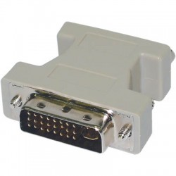 Adaptor Changer DVI to VGA DVI-A Male 24M/VGA 15F Μετατροπέας
