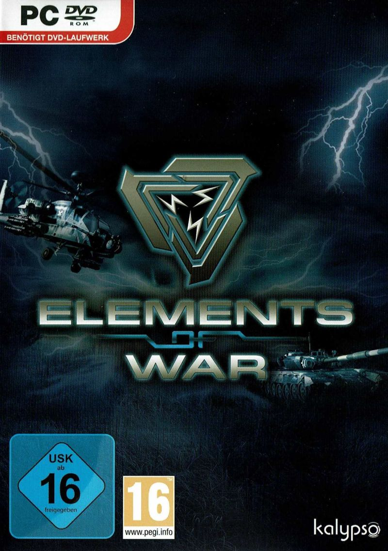 PC GAME - ELEMENTS OF WAR