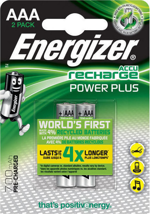 Energizer Rechargable Battery AAA 700mAh