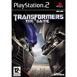 PS2-GAME : TRANSFORMERS THE GAME