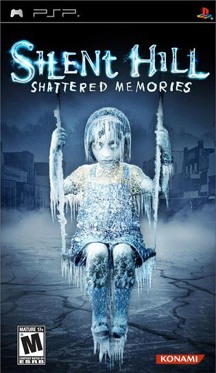 PSP-GAME : Silent hill : shattered memories
