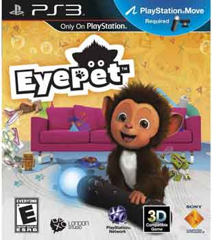 PS3-GAME : EYEPET MOVE EDTION