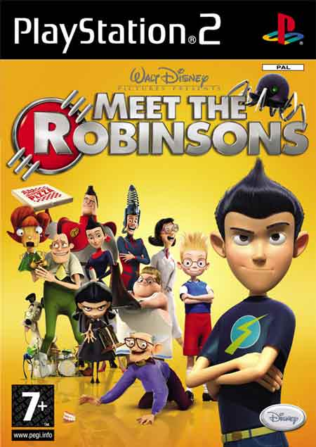 PS2-GAME : Disney's Meet the Robinsons