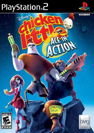 PS2-GAME : CHICKEN LITTLE (ACE IN ACTION)