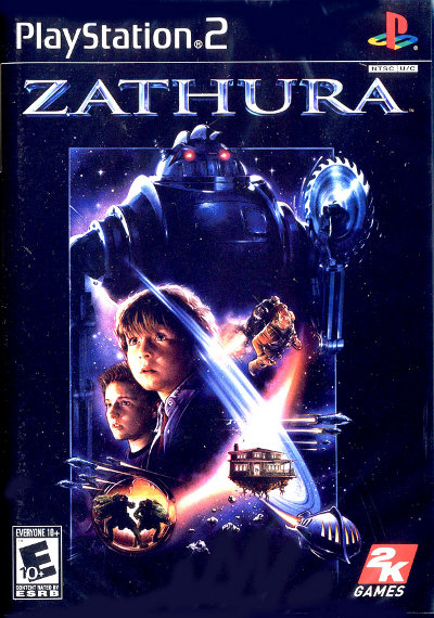 PS2-GAME : Zathura