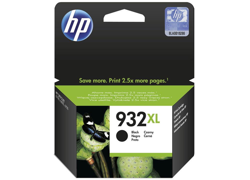 Μαυρο Μελάνι HP No 932XL Black CN053AE 1000p OJ 6100/6600/6700