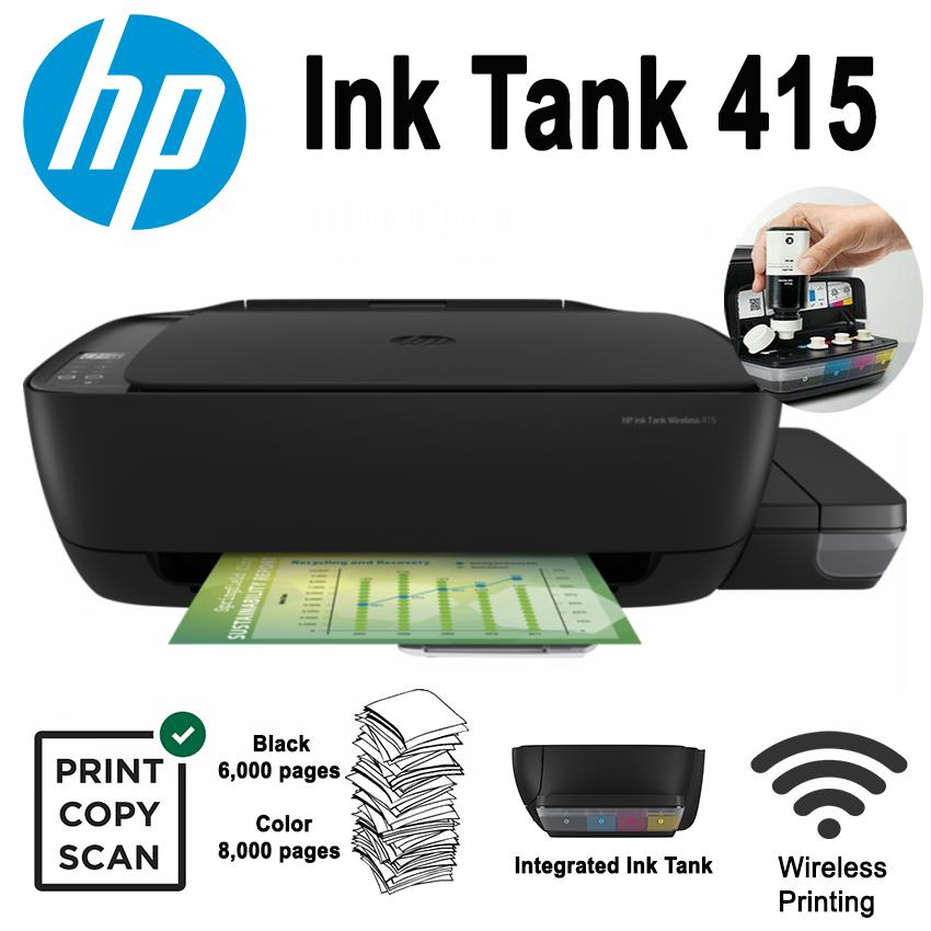 HP ITS. Ink Tank 415 A4 PSC Z4B53A 8ppm WiFi