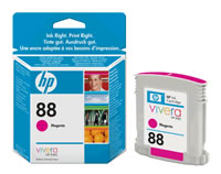 Εγχρωμο Μελάνι HP C9387EA Magenta Cartridge No88 10 ml  k550/L75