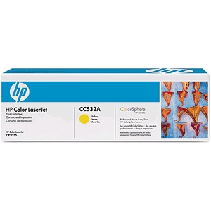 Toner HP Color LaserJet CC532A Yellow Print Cartridge