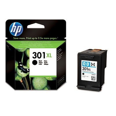 Μαύρο Μελάνι HP No 301XL Black Ink Cartridge (CH563EE)