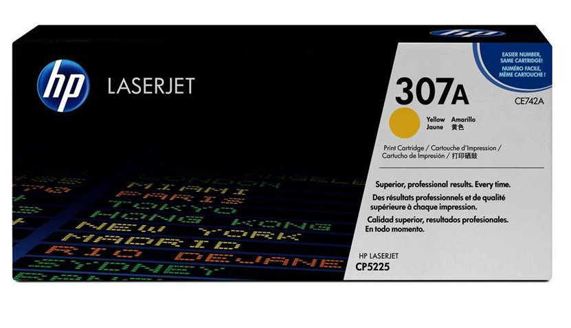 Toner HP LaserJet CP5225 HP 307A Yellow Cartridge 7,3k Pages