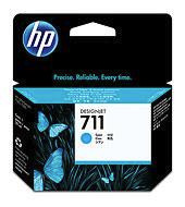 Έγχρωμο Μελάνι HP No 711 Cyan Ink Cartridge CZ130A 29ml