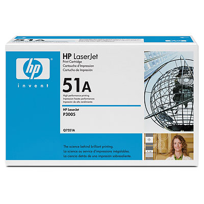 Toner HP Q7551A for P3005DN/M3035xs/M3025x
