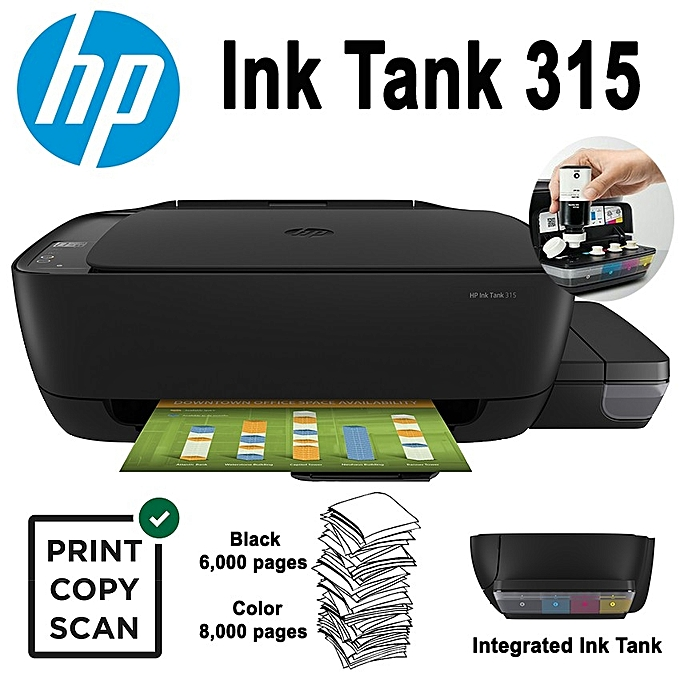 HP ITS. Ink Tank 315 A4 PSC Z4B04A 8ppm