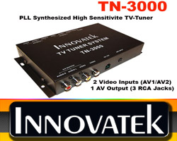 Innovatek TN-3000 PLL Synthesized HighSensitive TV-TUNER D & T