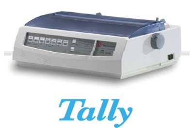 Tally 2440/9 Dot Matrix Printer Heavy Duty DotMatrix A4