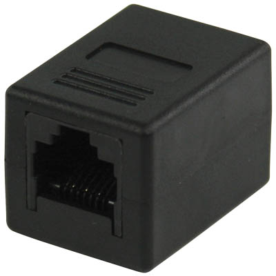 ADAPTOR RJ-45 8pin/8pin Mufa Μούφα Ethernet Female/Female (F/F)