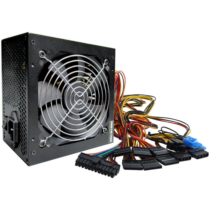 Τροφοδοτικό Nod PSU 550W 120mm ATX BLACK PFC 2x8pin/6pin