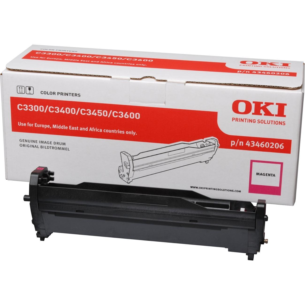 DRUM OKI OKIPAGE C3300Ν/C3400Ν EP Cartridge MAGENTA 43460206