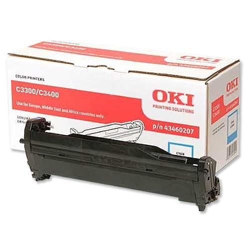 DRUM OKI OKIPAGE C3300/C3400/C3450 EP Cartridge CYAN 43460207