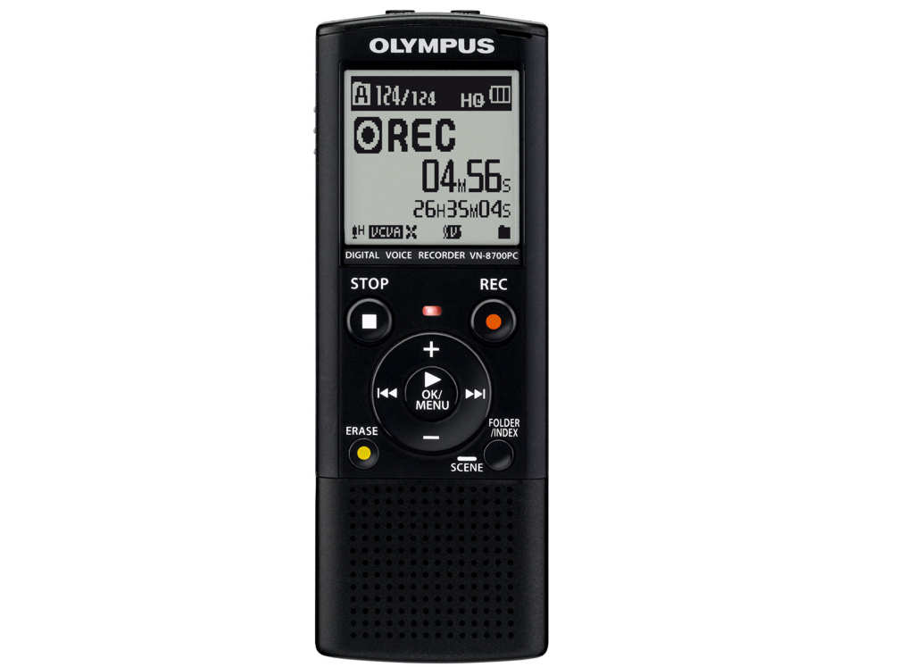 Olympus VN-8700PC Digital Voice Recorder Λογογράφος Ψηφιακός 4GB