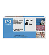 Toner HP Q2670A COLOR LASERJET 3500/3700 BLACK 6000p 308A