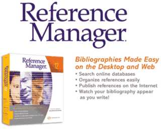 Reference Manager 12 Πρόγραμμα Παραπομπών