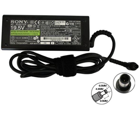 Original AC Adapter for Sony 19.5V-4.7A (6.5mm*4.4mm) 90Watt