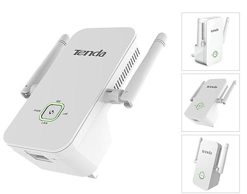 TENDA A301 Range Extender 300Mbps WiFi with AC Pass