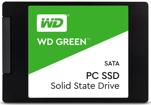 "Westen Digital SSD 480Gb Green 2.5"" 3D NAND WDS480G2G0A"