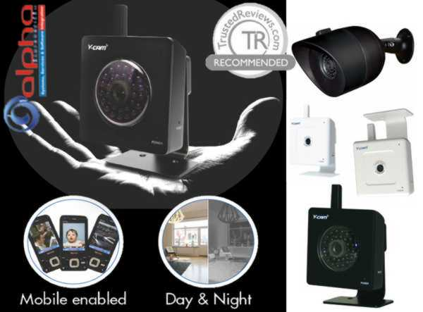 Κάμερα Y-Cam IP CAMERA Mini/Audio/NightVision/Ασύρματη White IR